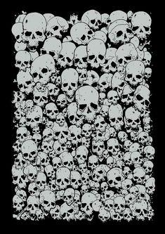 Skulls by CraigRyans