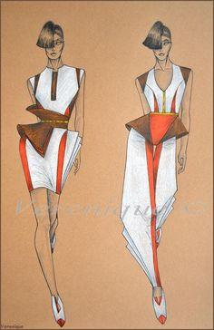 Fashion mini collection 2. by Verenique