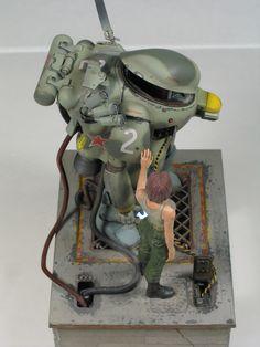 Ma.K. S.A.F.S. Snake-Eye. Built by dainaka (大 仲) #Maschinen_Krieger #robot…