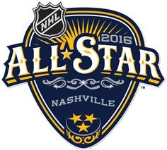NHL All-Star Game Alt. Language Logo on Chris Creamer's Sports Logos Page - SportsLogos. A virtual museum of sports logos, uniforms and historical items. Hockey Logos, Nhl Logos, Sports Logos, French Logo, Language Logo, Nashville, Nhl All Star Game, Music Festival Logos, Badge Logo