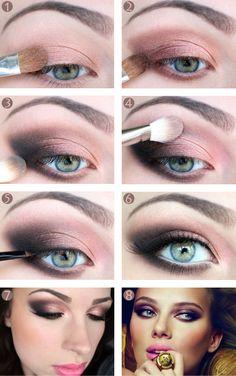 Makeup tutorial: Scarlett Johansson for Möet & Chandom