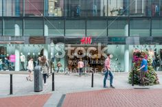 H&M Store in Dublin Royalty Free Stock Photo