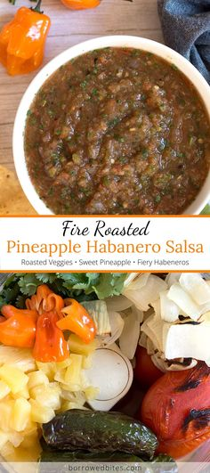 Habanero Recipes, Habanero Salsa, Tacos And Salsa, Chips And Salsa, Mexican Food Recipes, Dinner Recipes, Easy Recipes, Food Network Recipes, Food Processor Recipes