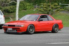 Nissan Silvia S13 Tuner Cars, Jdm Cars, My Dream Car, Dream Cars, S13 Silvia, Nissan 240sx, Nissan Infiniti, Drifting Cars, Nissan Silvia