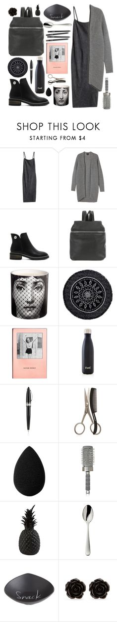 """Famous Dre"" by anishagarner ❤ liked on Polyvore featuring H&M, Monki, Kara, Fornasetti, The Beach People, Kate Spade, S'well, Pineider, Tweezerman and beautyblender"