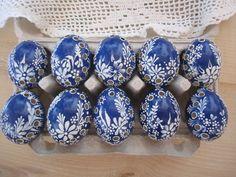 Kraslice ( madeira v modré ) / Zboží prodejce veronika73 | Fler.cz