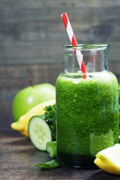 Entsafter-Rezept: Grüner Morgenstart