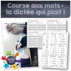 La course aux mots ou la dictée revisitée - the running dictation - Mitsouko au CP - Tap the link to shop on our official online store! You can also join our affiliate and/or rewards programs for FRE Teacher Hacks, Best Teacher, Back To School Hacks, School Stuff, Teachers Corner, French Classroom, Spelling Activities, Teaching French, Thing 1
