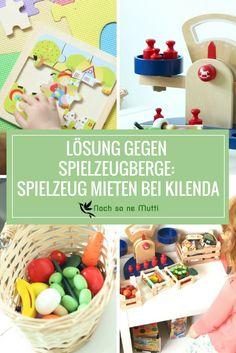 Spielzeug mieten bei kilenda um Spielzeugberge im Kinderzimmer reduzieren.
