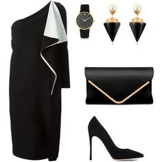 A fashion look from September 2015 featuring Chloé dresses, Gianvito Rossi pumps and Larsson & Jennings watches. Browse and shop related looks.