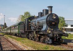705 SBB Historic A at Ramsen, Switzerland by Georg Trüb Swiss Railways, Train, Steam Locomotive, Switzerland, Crafts, Trains, Europe, History, Iron