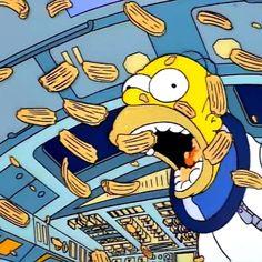 """ from 'Deep Space Homer'. Futurama, Simpsons Simpsons, Mundo Meme, Los Simsons, Memes Lindos, Simpsons Drawings, Cartoon Profile Pictures, Sick Kids, Cartoon Icons"