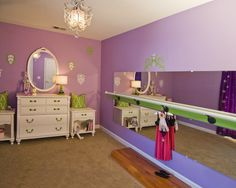 Kids Ballet Barre Design, Pictures, Remodel, Decor and Ideas