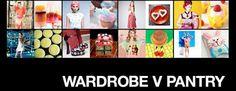 WARDROBE V PANTRY www.chadstoneshopping.com.au/wvp Pantry, Baseball Cards, News, Pantry Room, Butler Pantry, Larder Storage, Kitchen Pantry, Closet Storage