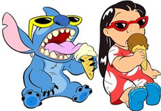 LILO & STITCH I love this movie. I watched this movie ever since I was a baby. I use to watch the episodes over and over again. Every time I would watched tv I would watch lilo and stitch.