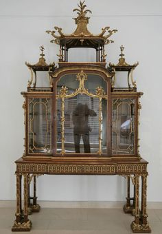 Chippendale cabinet