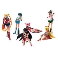 Coleção de Miniaturas Sailor Moon c/ 6 peças | Loja Quarto Geek