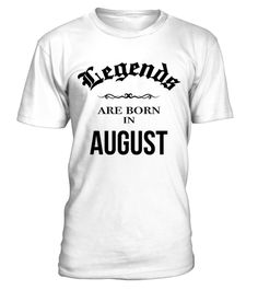 Birthday Legends are born in August