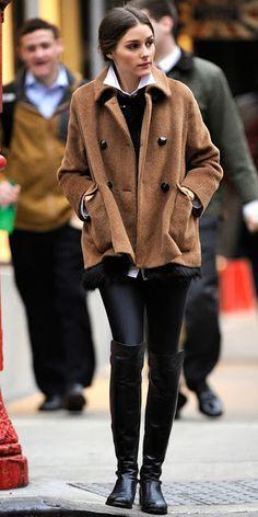 overknee streetstyle Olivia Palermo #overknee #boots #stiefel #bottes #cuissardes #cuissard #stretch #stivali #madeinitaly #nrrapisardi #rapisardi #oliviapalermo #itgirl #fashionicon