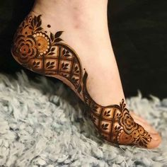 Mehndi Designs Feet, Floral Henna Designs, Legs Mehndi Design, Henna Art Designs, Mehndi Designs For Girls, Mehndi Designs 2018, Stylish Mehndi Designs, Dulhan Mehndi Designs, Latest Arabic Mehndi Designs