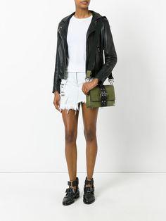 Купить рваная джинсовая юбка с контрастными вставками versus (арт. BD30349BT2095511985136) в интернет-магазине Clouty с доставкой