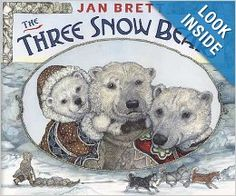 The Three Snow Bears: Jan Brett: 9780399247927: Amazon.com: Books
