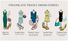 Invitation Dress Codes