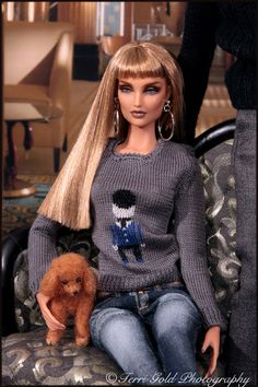 "Collecting Fashion Dolls by Terri Gold: Brunel Models the new Kingdom Doll Fashion ""Bobby""..."