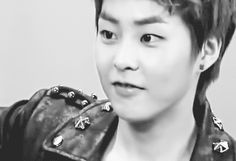 Xiumin's smile at the end :3 <3 Gif