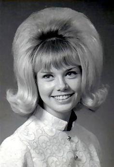 'flick-ups' hair