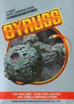 VGJUNK, Gyruss, Atari 2600.