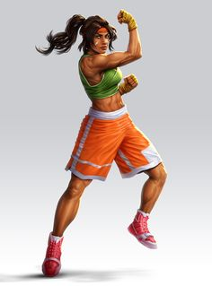 Boxer by lordeeas on DeviantArt Game Character Design, Character Concept, Character Art, Black Anime Characters, Female Characters, Tekken Cosplay, Tekken 8, Ethiopian Beauty, Female Boxers