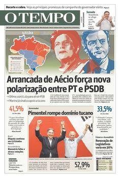 Como os jornais brasileiros noticiaram o fim do 1º turno