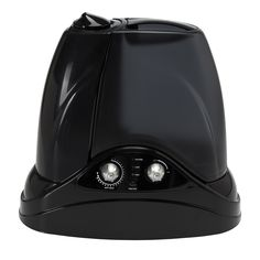 Hunter 1.5-gallon Ultrasonic Cool and Warm Mist Black Humidifier (Black)