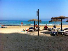 Playa en Los Alcázares, Murcia