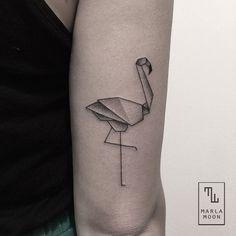 marla moon origami flamingo