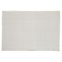 Origami - Tappeto grigio in cotone 140 x 200 cm