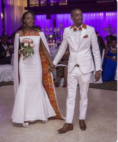 African wedding outfits, African wedding suits, African groom's suit, African bride's dress, African - Modern African Wedding Attire, African Attire, African Wear, African Women, Latest African Fashion Dresses, African Print Dresses, African Dress, African Traditional Wedding, Traditional Wedding Dresses