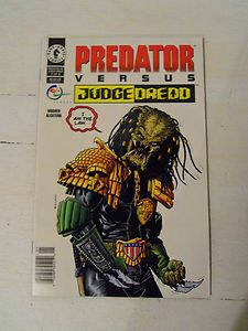 ec340fadf2b Predator vs Judge Dredd Dark Horse Comics Available now! ~Check out our  listings~ OrphanTreasures