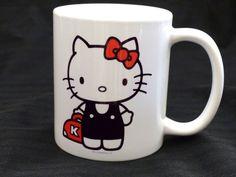 Hello Kitty Con 2014 40th Anniversary The Line Hotel Ceramic White Mug 12 oz.