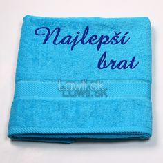 Osušky s nápismi : Najlepší brat http://www.lawli.sk/darcek/eshop/29-1-Vysivane-osusky/8-2-Vysivane-osusky-s-napismi