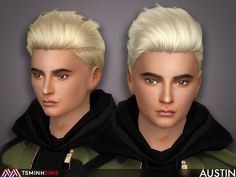 - New meshes  Found in TSR Category 'Sims 4 Male Hairstyles'