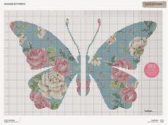 Madame Butterfly - Gráfico Ponto Cruz! | Armarinho São José
