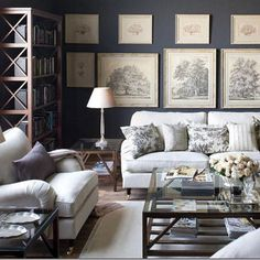 English Roll Arm Sofa Design Ideas, Pictures, Remodel, and Decor - page 14