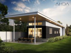 What is a Granny Flat? 12 Fabulous Designs Sage Cottage Architects The post What is a Granny Flat? 12 Fabulous Designs Sage Cottage Architects appeared first on aubenkuche. Granny Pod Cost, Granny Pods, Granny Flat Plans, Real Estate Australia, Kitchen Island Bench, Kitchen Dining, Built In Pantry, Metal Homes, Flat Roof