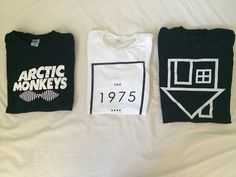 Give me them now! Especial The 1975 and Arctic Monkeys  shirts! They are two of my fav bands!