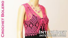 Bolero jacket crochet pattern. Part 2 of 2