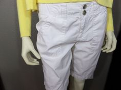 Bass Heritage Long White Women's Shorts - Limited Edition #Bass #Cargo