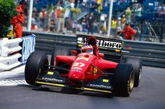 1994 GP Monaco (Jean Alesi) Ferrari 412T1