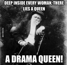 Old man on drama queens